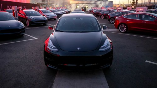 Expect to see a performance version for the Model 3 next year