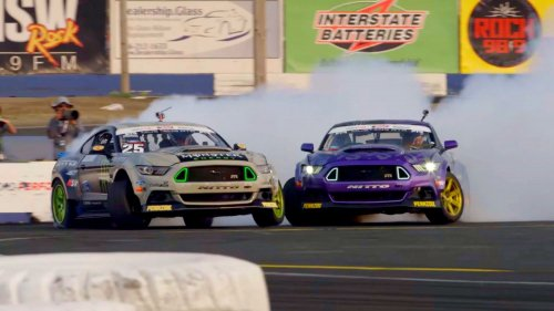 The battle of the Mustangs: Vaughn Gittin Jr. vs. Chelsea DeNofa