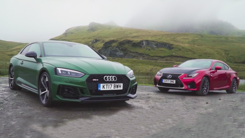 New Audi RS5 takes on Lexus RC F in head-to-head road test