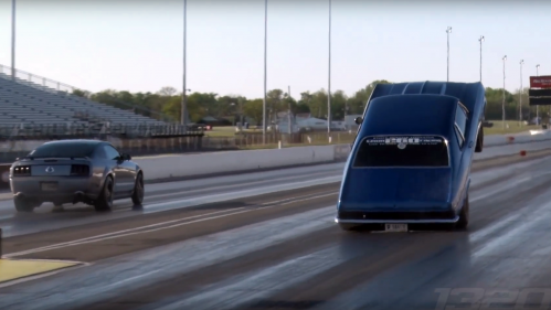 This Chevy Nova SS is so powerful it wants to take off