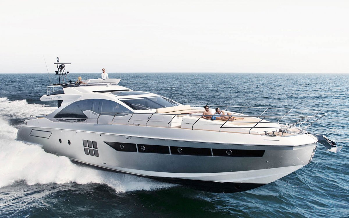 New Azimut 77S yacht uses Volvo Penta power