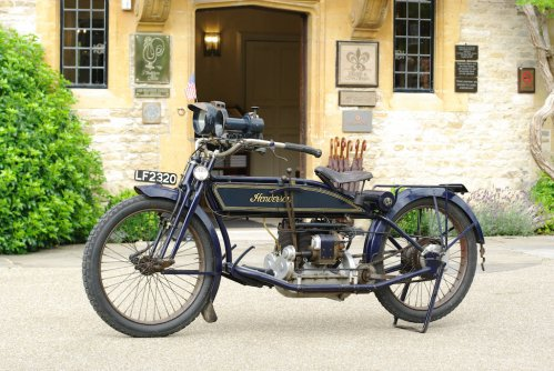 1914 HENDERSON FOUR Model C Road test: The Future Starts Here