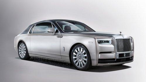 All new Rolls Royce Phantom loses two doors in PhotoShop
