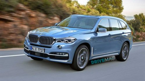 BMW X7 concept to debut in Frankfurt with hydrogen fuel cell powertrain