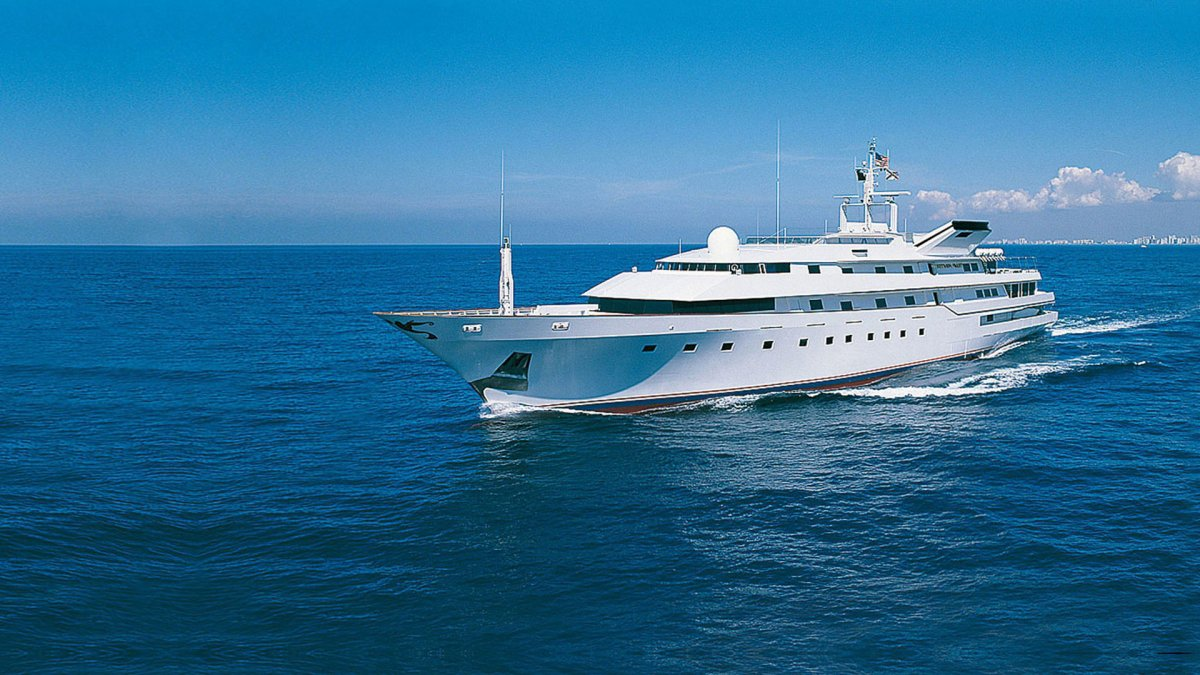 The story of Donald Trump's superyacht: The Trump Princess