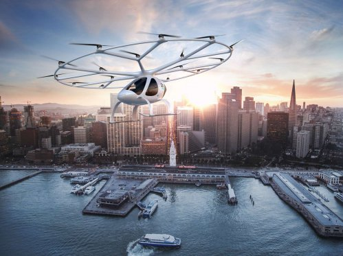 Daimler pumps €25 million into flying taxi project developed by Volocopter