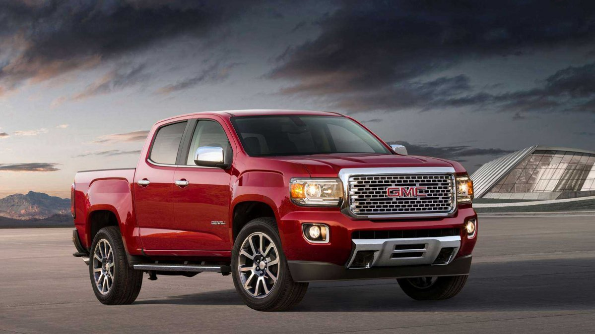 2018 GMC Canyon: what's new for the 2018MY