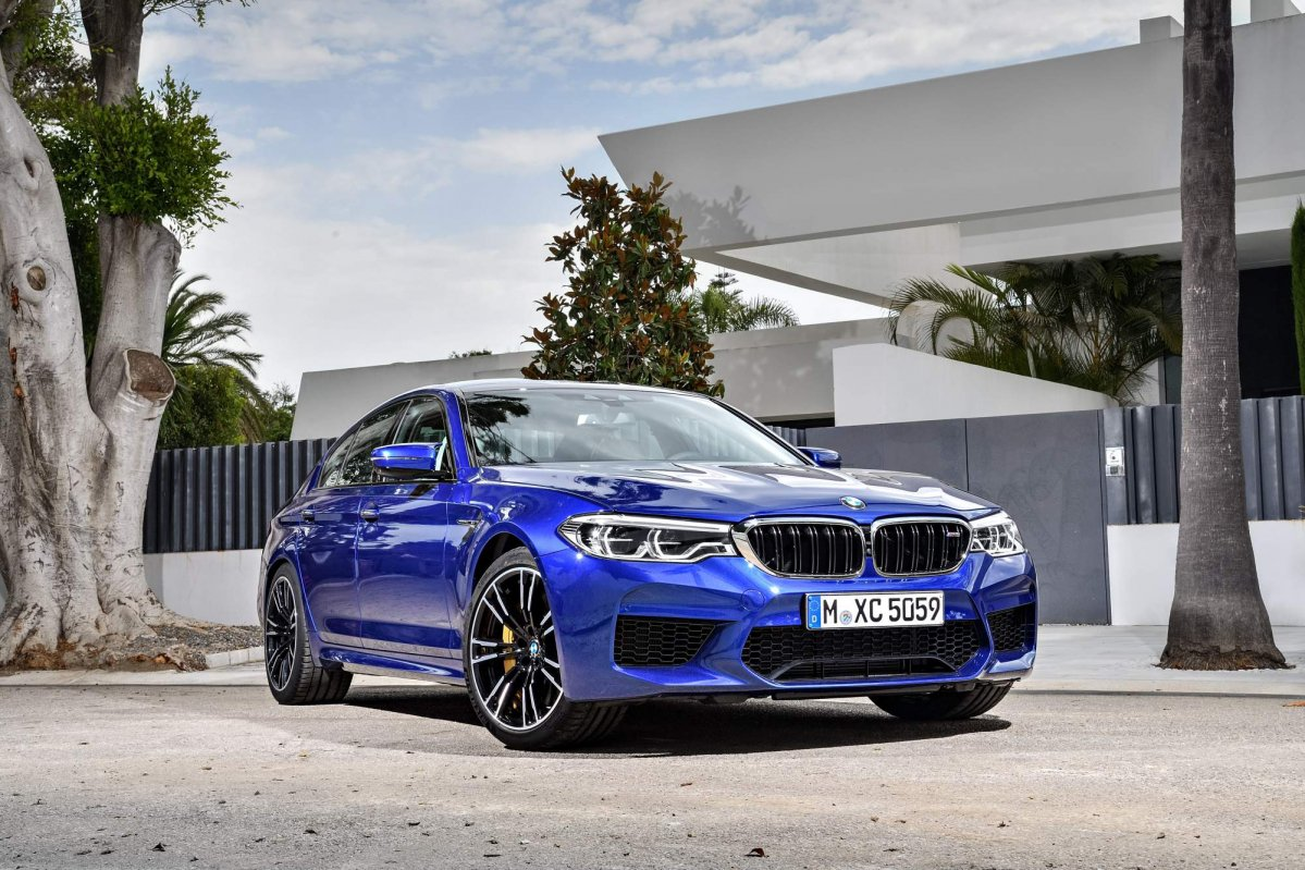 2018 Bmw M5 Is Your All Weather Highly Intelligent Super Sports Seda