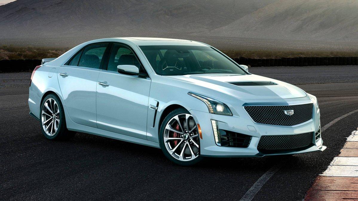 2018 Cadillac CTS-V Glacier Metallic Edition gets exclusive paint, ar...