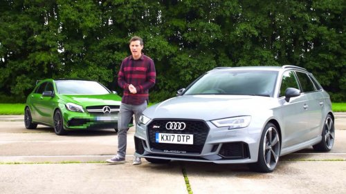 Audi RS3 vs Mercedes-AMG A45: a comparison review