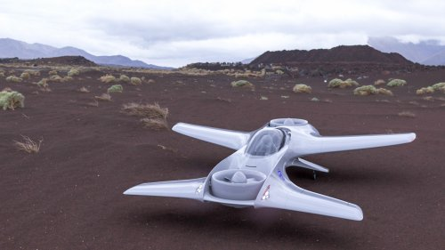 DeLorean is building a two-seat VTOL, says it's an F1 car for the sky