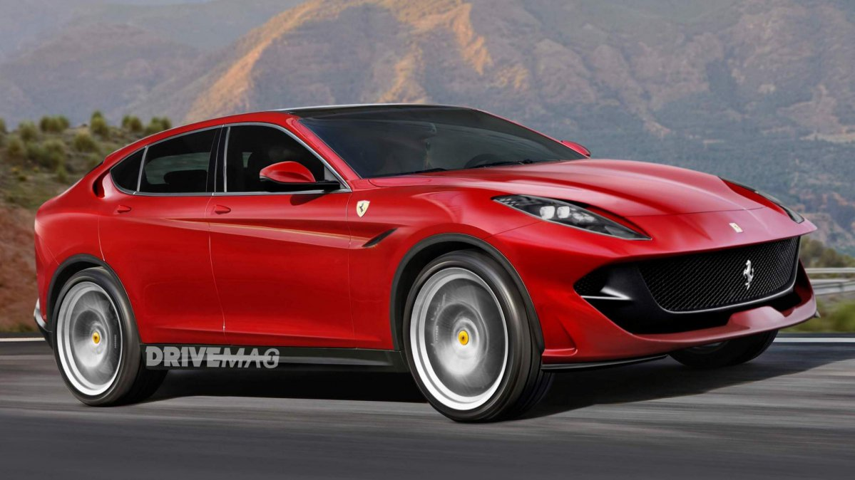 Hate It Or Love It But A Ferrari Suv May Come Our Way