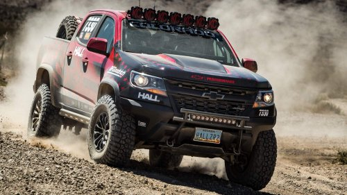 "2017 Chevrolet Colorado ZR2 to prove itself in ""Vegas to Reno"" off-road race"