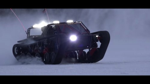 Winter is coming, buy yourself a 1500-hp Ripsaw SSR1