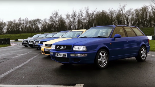 From the '94 RS2 to the 2012 RS6, here's Audi's fast estates history