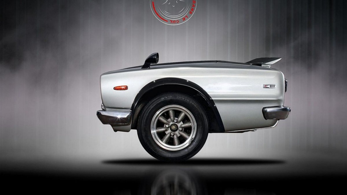 La tête dans le cul is a wonderful series of hangovered cars