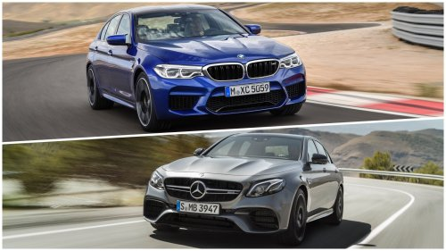 2018 BMW M5 versus 2018 Mercedes-AMG E 63: a static comparison