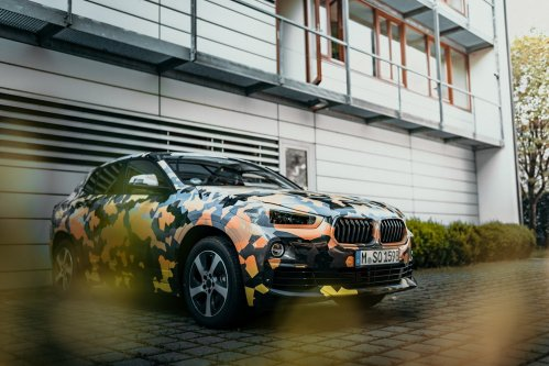 BMW shows official camouflaged X2 sports activity coupe photos