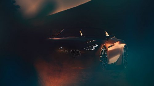 BMW shows all-new Z4 roadster concept teaser before Pebble Beach debut