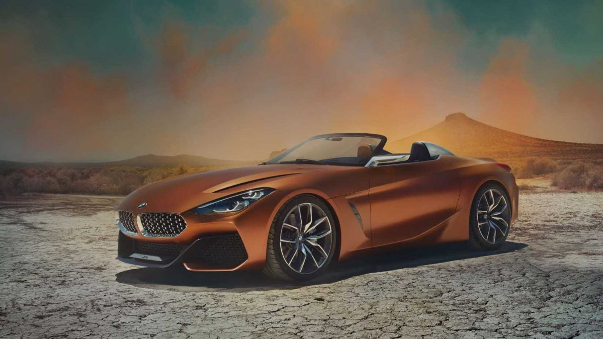 Sharp BMW Z4 concept previews production roadster in Pebble Beach