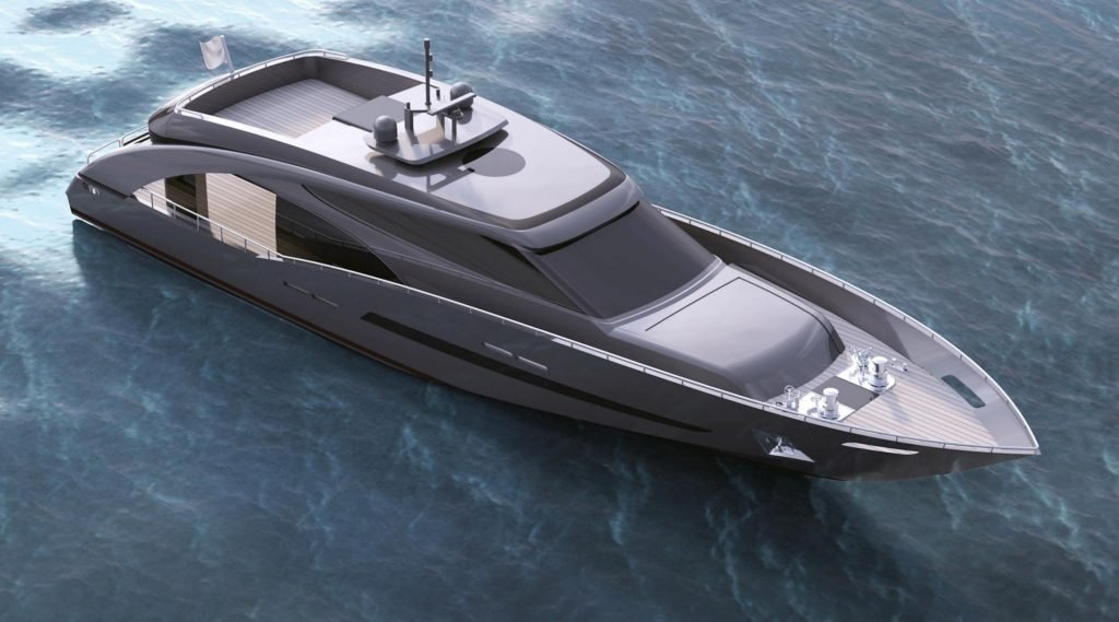CCN reveals the first details of 27m M/Y Freedom