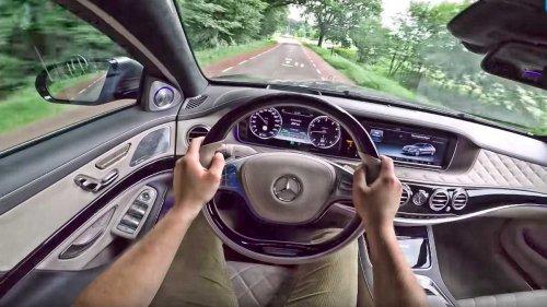Experience the lavish V12 Mercedes-Maybach S600 in POV video