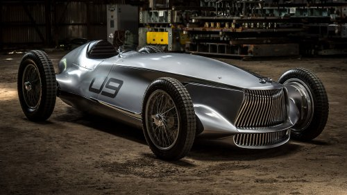 Infiniti Prototype 9 is a stunning 1940s grand prix-inspired EV concept
