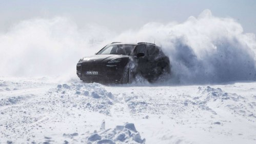 This is how Porsche tests the new Cayenne SUV