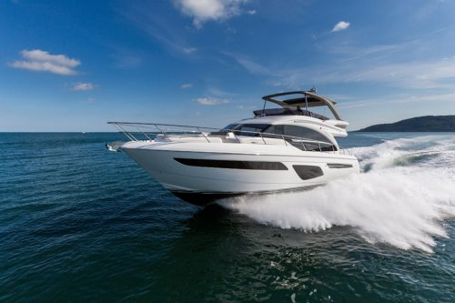 The new Princess 62 debuts at Cannes Yachting Festival