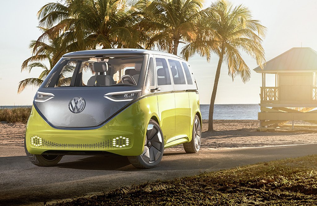 VW to turn I.D. Buzz concept intro road-ready electric microbus