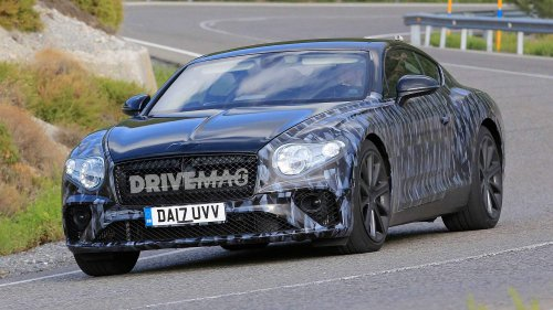 All-new 2018 Bentley Continental GT reveals more of its athletic body