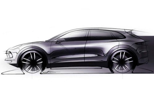 2018 Porsche Cayenne shows familiar shape in official sketch ahead of August 29 debut