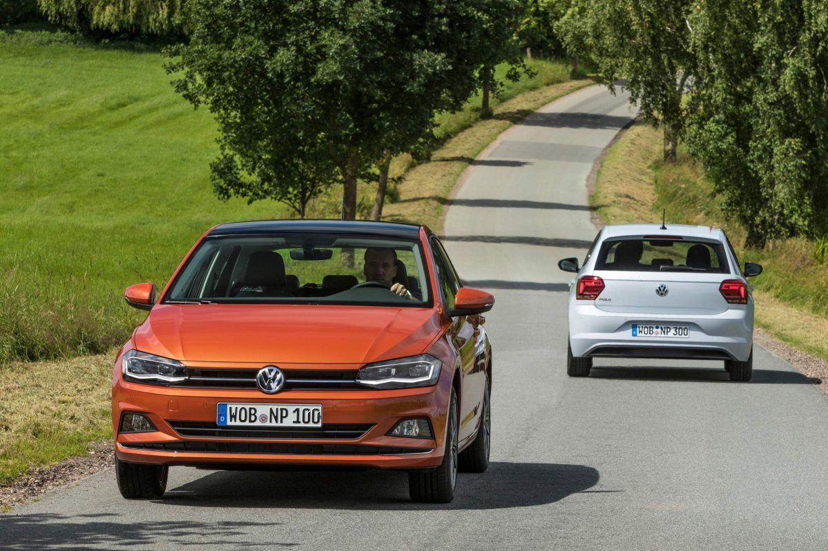 2018 vw polo priced from 12 975 in germany new details released. Black Bedroom Furniture Sets. Home Design Ideas