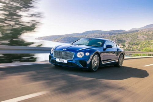2018 Bentley Continental GT: official pictures and info