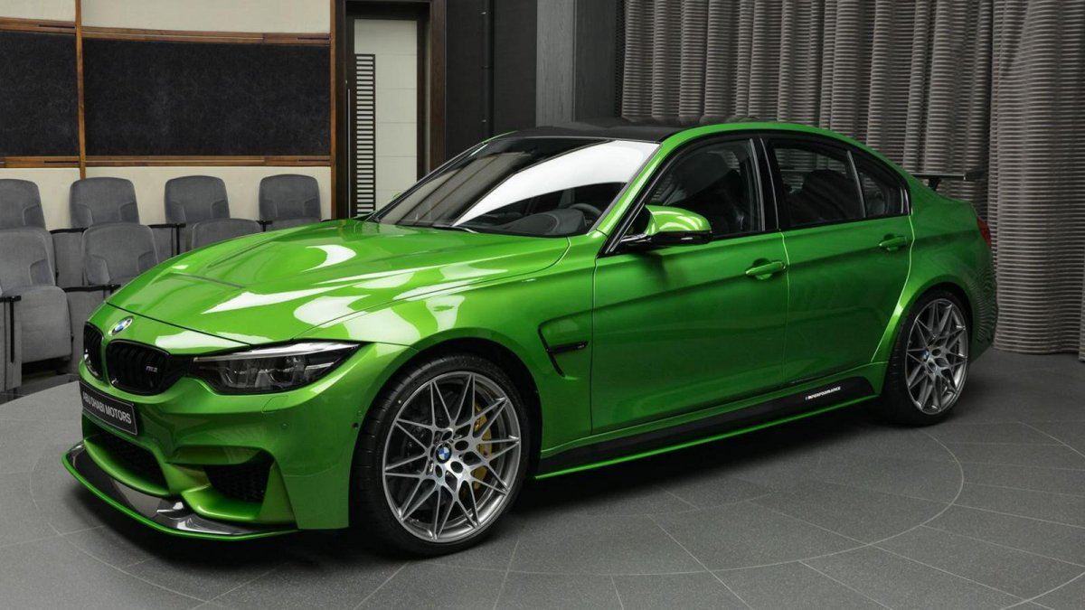 Coffee And Cars >> Hate it or love it: BMW M3 in Java Green with M Performance Body Kit