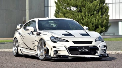 Rowen International's Toyota 86 tuning kit has to be the craziest one yet