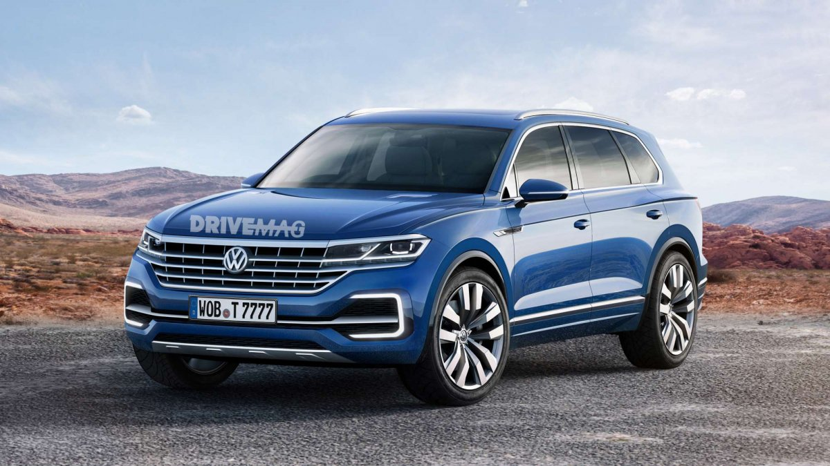 2018 volkswagen touareg suv what we know until now. Black Bedroom Furniture Sets. Home Design Ideas