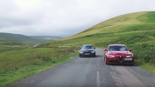 Alfa Giulia Quadrifoglio vs BMW M3 Competition Package is a deja-vu video comparo