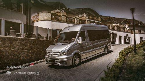 Carlex Design recruits the Mercedes Sprinter, transforms it into an uber-shuttle