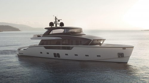 First Sanlorenzo SX88 yacht launched