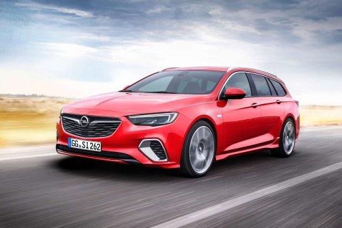 Opel Insignia GSi Sports Tourer comes to life with 210 hp BiTurbo diesel