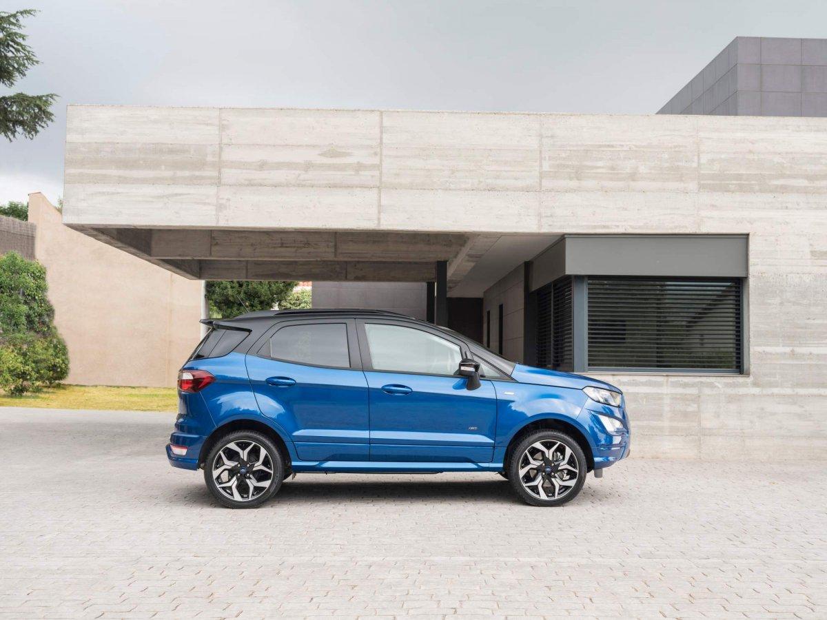 2018 ford ecosport facelift gains awd st line version. Black Bedroom Furniture Sets. Home Design Ideas