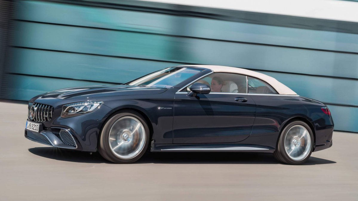 Facelifted 2018 Mercedes S Class Coup 233 And Cabriolet Bring
