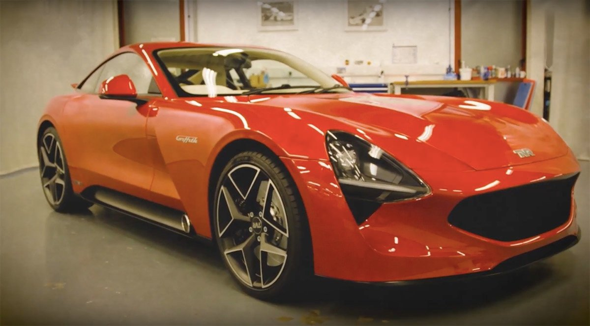 new tvr griffith revealed at goodwood revival. Black Bedroom Furniture Sets. Home Design Ideas