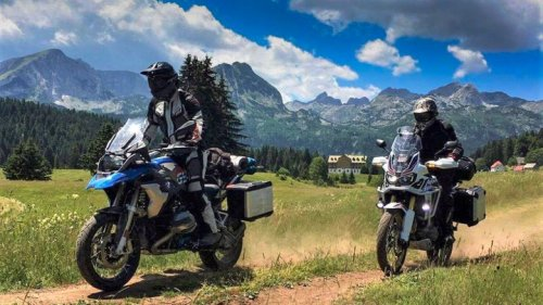 Tips for going off-road on a big adventure bike