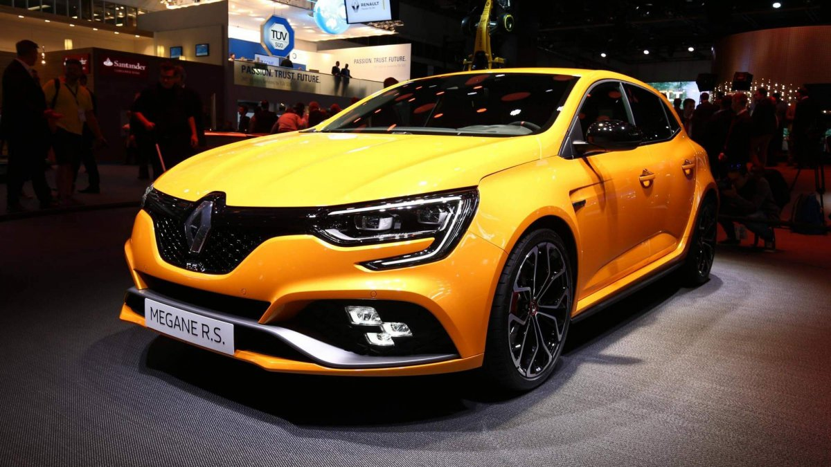 2018 renault clio rs. plain clio 2018 renault megane rs powers into frankfurt with 280hp 18l turbo  all intended renault clio rs