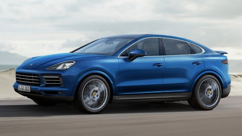 If Porsche made a Cayenne Coupe, it would look like this