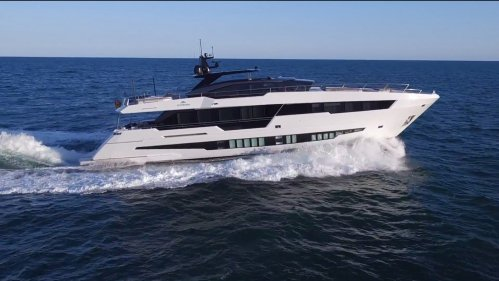 Astondoa 100 Century delivered and named M/Y Ninitas