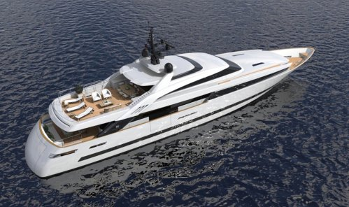 ISA Yachts announces the sale of 43m Project ISA Alloy