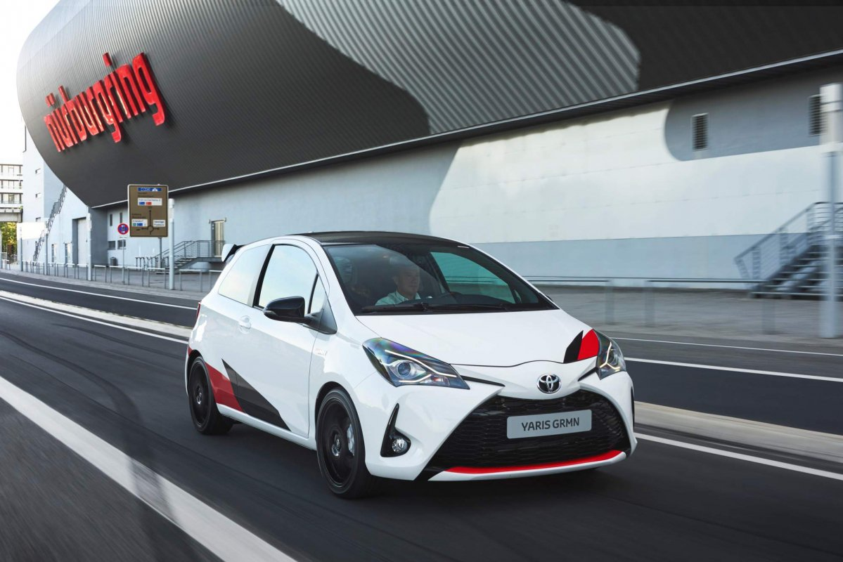 2018 toyota yaris grmn full details released including performance. Black Bedroom Furniture Sets. Home Design Ideas